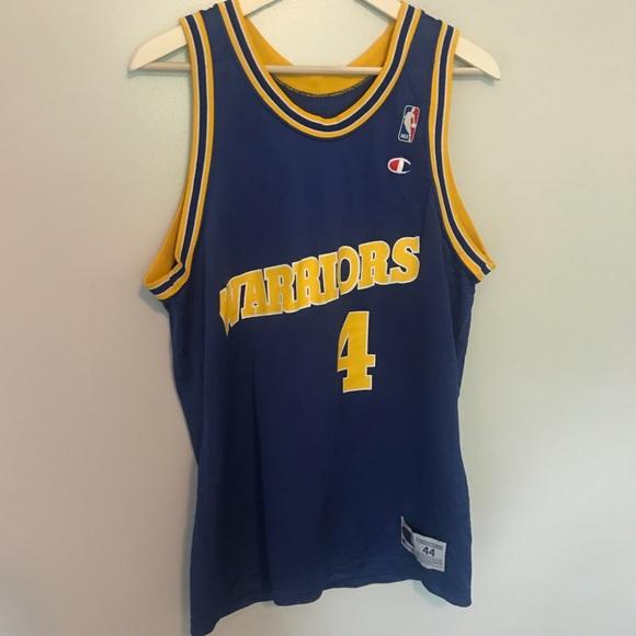 6c0814c00 Golden State Warriors Chris Webber  4 Jersey NBA